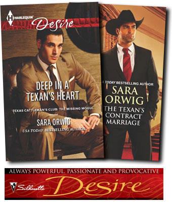 Deep in a Texan's Heart Harlequin Romance Author Sara Orwig